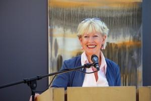Erföffnungsrede:  Monika Simshäuser, Bürgermeisterin a.D., Foto: Wilfried Jasmer