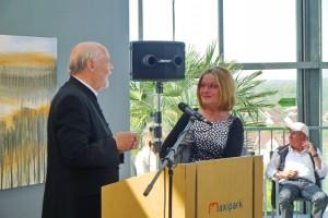 Einführung: Dr. Karl Faulenbach und Monika Fobbe-Reuter, Foto: Wilfried Jasmer