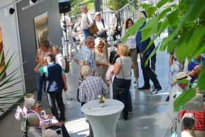 Ausstellungsgäste, Foto: Wilfried Jasmer