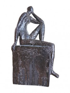 Sitzende Figur, (c) Monika Fobbe-Reuter